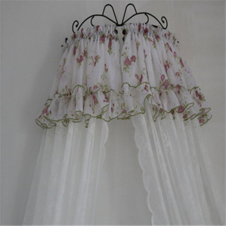 Crown Lace Decorative Mosquito Net