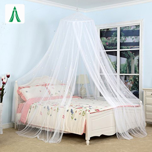 Glaxaxy Star Portable Folding Mosquito Net for Double Bed And Single Bed