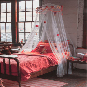 2020 Ins Hot Sale Foldable Polyester Circular Conical Round Mosquito Bed Canopy Net