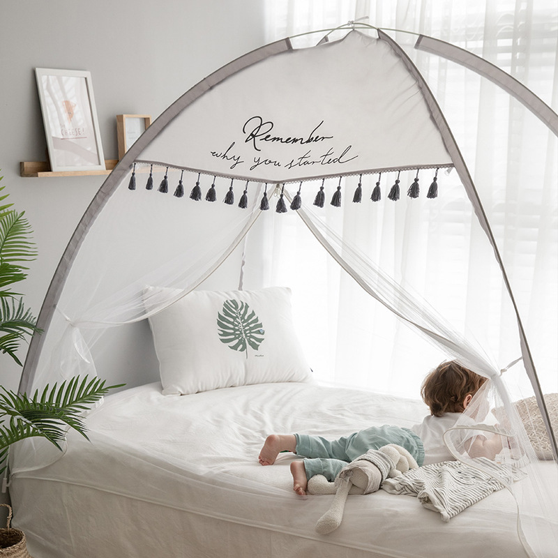 Hanging Cute Pop Up Mosquito Net Beautiful Children Baby Bed With Net