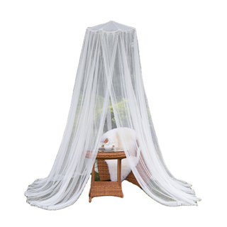 Outdoor Hanging Bamboo Chips Umbrella Mosquito Net