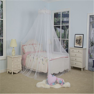 Bed Canopy Queen with Lace Canopies Mosquito Net for Kids Princess Style Household Bedroom