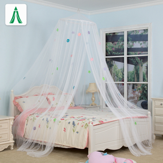 2020 Fasion Girl Bedroom Colorful Flowers Hanging Mosquito Net