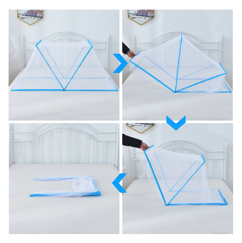Good Sewing Factory Foldable Convenient Pop Up Mosquito Net Tent