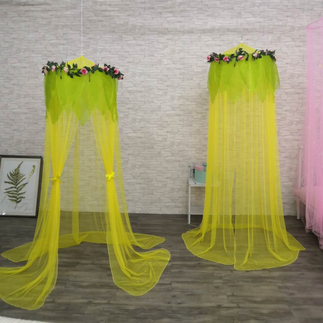 2020 New Fashion Style Flower Faerie Hanging Kids Play Canopy