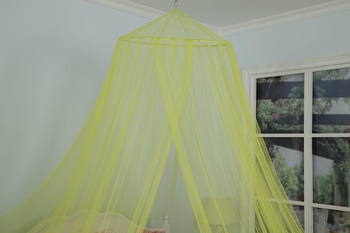 Colorful Sleeping Mosquito Net Bed Long Distance Insects Netting Canopy