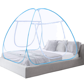 Anti Mosquito Nets Pop Up Mosquito Net Bed Tent With Bottom Folding Portable Mosquito Nettings