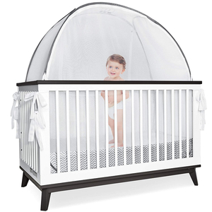 Baby Crib Pop Up Tents Baby Safety Mesh Cover Netting Mosquito Nets