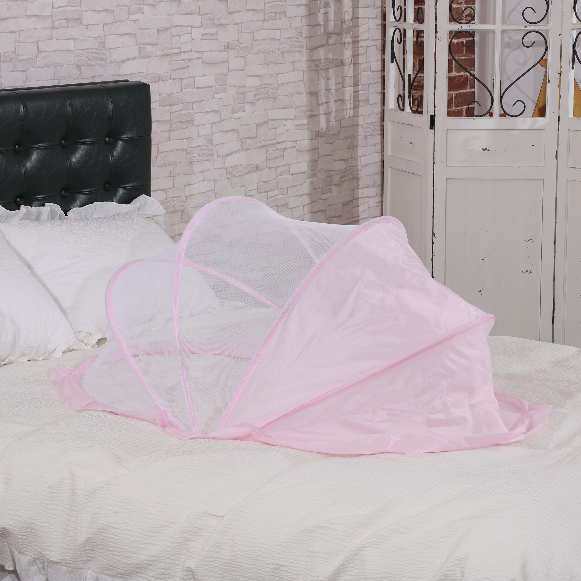 Baby Mosquito Net Installation-free Encryption Anti-mosquito Safety Foldable Bottomless Yurt Baby Mosquito Net