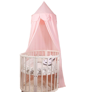 Soft Baby Crib Cover Bed Canopy Children Play Tent Reading Corner Mosquito Net Camping Full Travel Outdoor Folded Circular LLIN