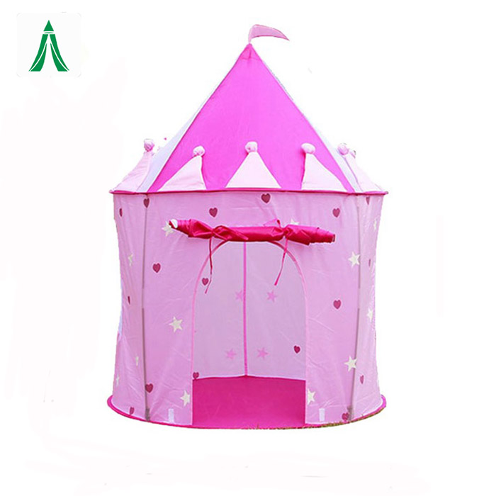 Popular girls princess fold children play tent castle play tent for children playing