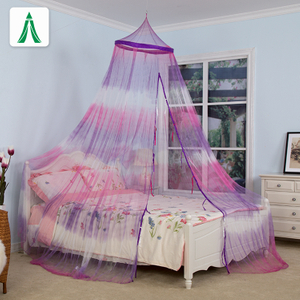 Curtain Purple Mosquito Net Deluxe Bed Canopy Mosquito Netting
