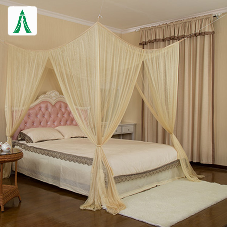 Popular Majesty King Size Bed Household Mosquito Net with Canopy Box