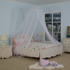 White Conical Double Bed Hanging Mosquito Bed Net For Bedroom