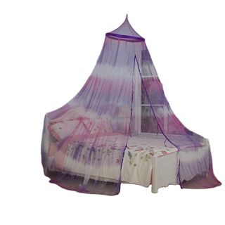 2020 New Style Distinctive Tie-Dye Round Top Hanging Mosquito Mesh Net