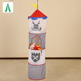 Laundry Basket Foldable hanging Organizer Storage Bags Kid Toys Storage Baskets