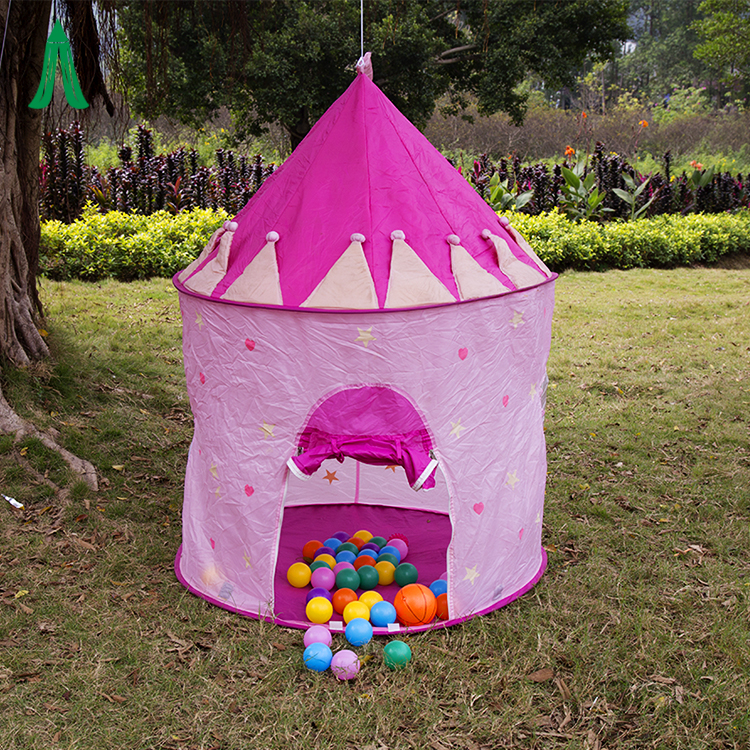 Pop Up Ultralight Folding Kids Toy Play Tent Princess Castle Tent