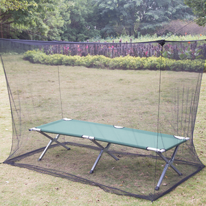 Rectangular Outdoor Anti Insects Square Mosquito Net Tent With Border