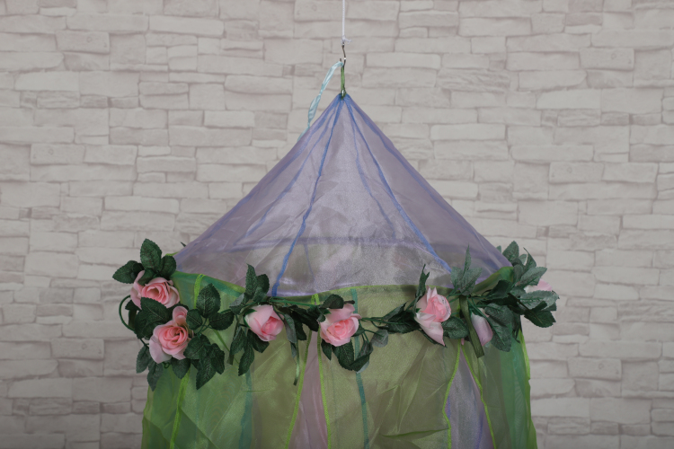 Fairy Soft Babies Crib Kids Girls Princess Bed Canopy Flower Decorative Hanging Mosquito Nets
