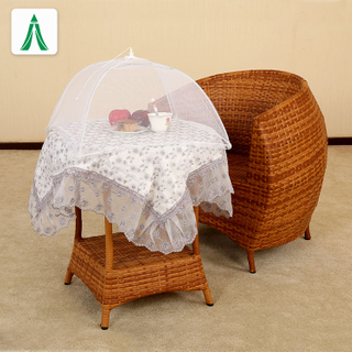 Foldable Umbrella Shape Giant Mosquito Net Mesh Food Cover Tent