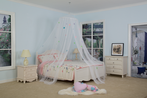 Wholesales High Quality Mosquito Nets 100% Polyester Folded Mosquito Bed Protected Nets