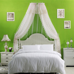 Rectangular Kids Circular Bed Canopy