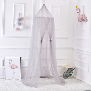 Popular Round Dome Tent Bed Canopy Bedroom Girls Hanging Mosquito Nets