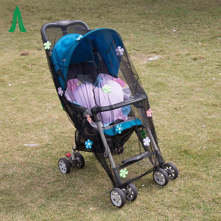 Summer Safety Baby Pushchair Full Cover Insect Protection Mosquito Netting