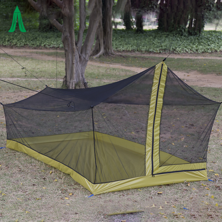 Rectangular House Net Tent Portable Hanging Mosquito Net For Camping Outdoor