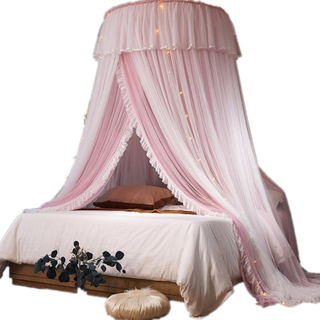 Mosquito Net Bed Domed Dream Mosquito Net No Installation Princess Wind Ceiling