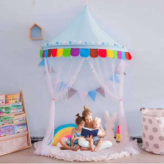 Princess Baby Bed Canopy For Kids Dome Hanging Play Tent Mosquito Nets