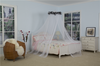 Luxury Princess Bed Canopy Mosquito Net for Girls Teens Or Over Baby Crib in Nursery Comes with Hanging Kit Premium Feather
