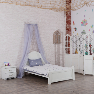Fashion Good Quality Princess Royal Grey Crown Bed Mantle Canopy Girls Decorative Lace Mosquito Net