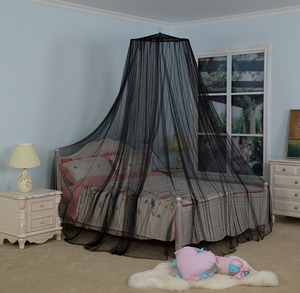 Decoration Indoor For Kids Black King Yellow Chiffon Mosquito Net Bed Canopy