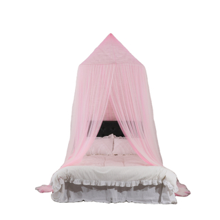 The Most Popular High Quality Mosquito Net Large Dome Canopy Double Bed Netting King Size Mosquito Net Bed Canopies For Girls