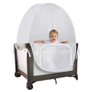 Amazon Popular Play Pop Up Tent Safety Baby Crib Mosquito Net With Doors